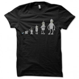 Tee shirt Futuram Evolution Bender noir