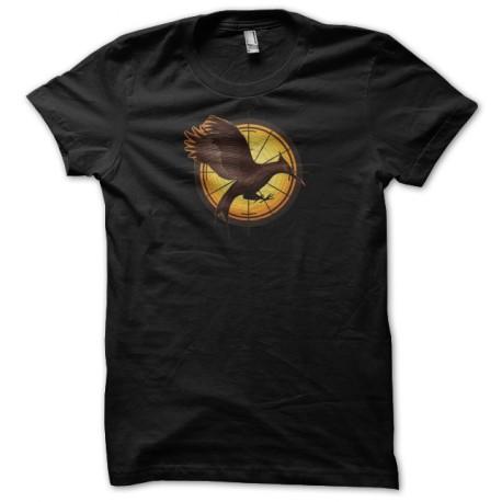Camisa juegos del hambre 2 fuego negro