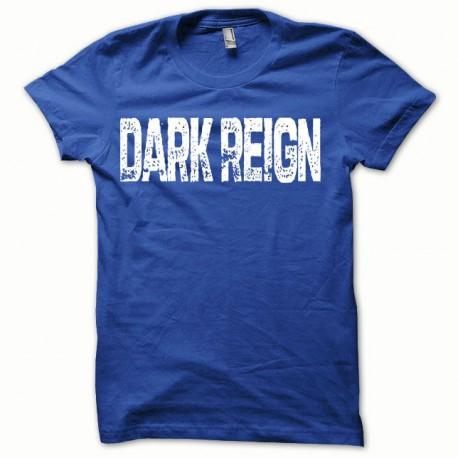 Tee shirt Dark Reign blanc/bleu royal