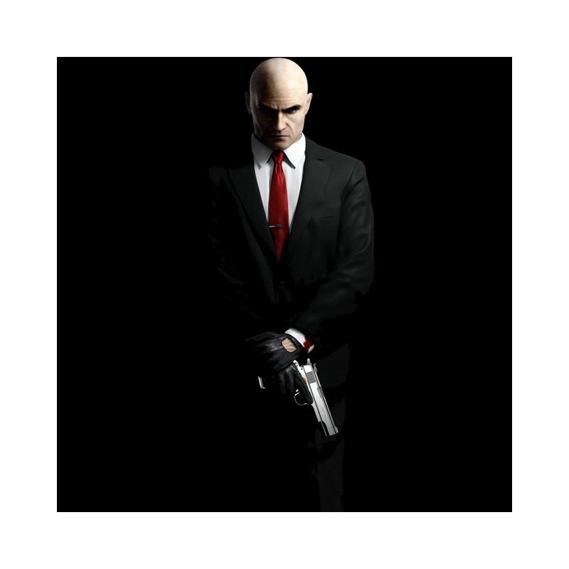 Tee Shirt Hitman Agent 47 Black