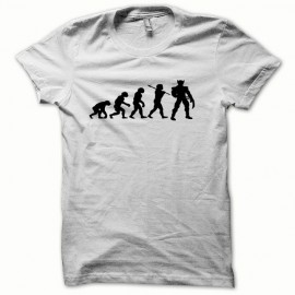 Tee shirt Wolverine Evolution basic anime noir/blanc