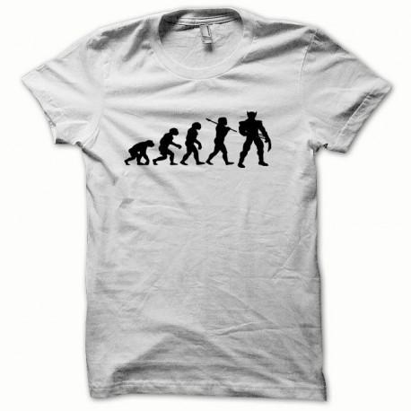 Tee shirt Wolverine Evolution noir/blanc