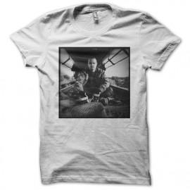 Tee shirt Aaron Paul Jesse pinkman blanc