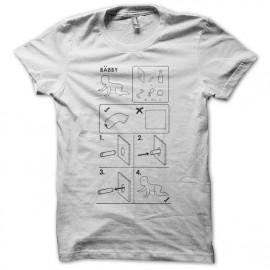 Tee shirt sexe parodie ikea blanc