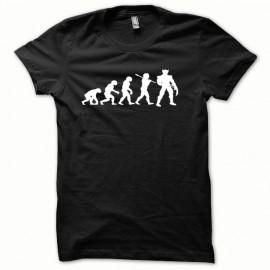 Tee shirt Wolverine Evolution classic modèle blanc/noir