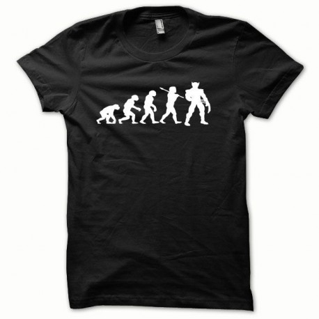 Tee shirt Wolverine Evolution blanc/noir