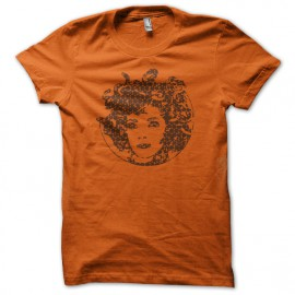 Tee Shirt Medusa Orange