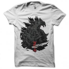 T shirt Godzilla 2014 art work white