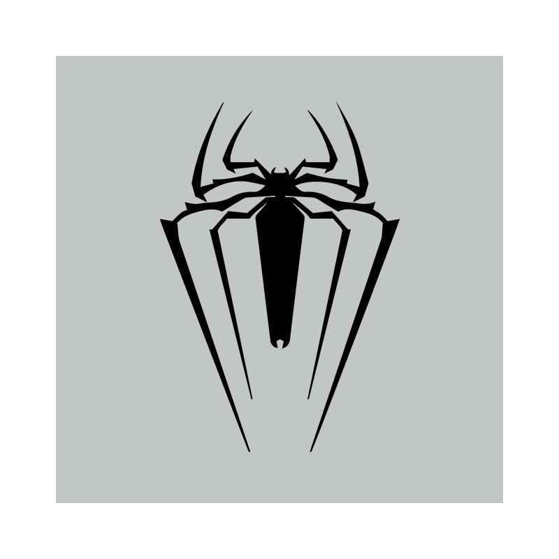 T Shirt The Amazing Spider Man Symbol Gray