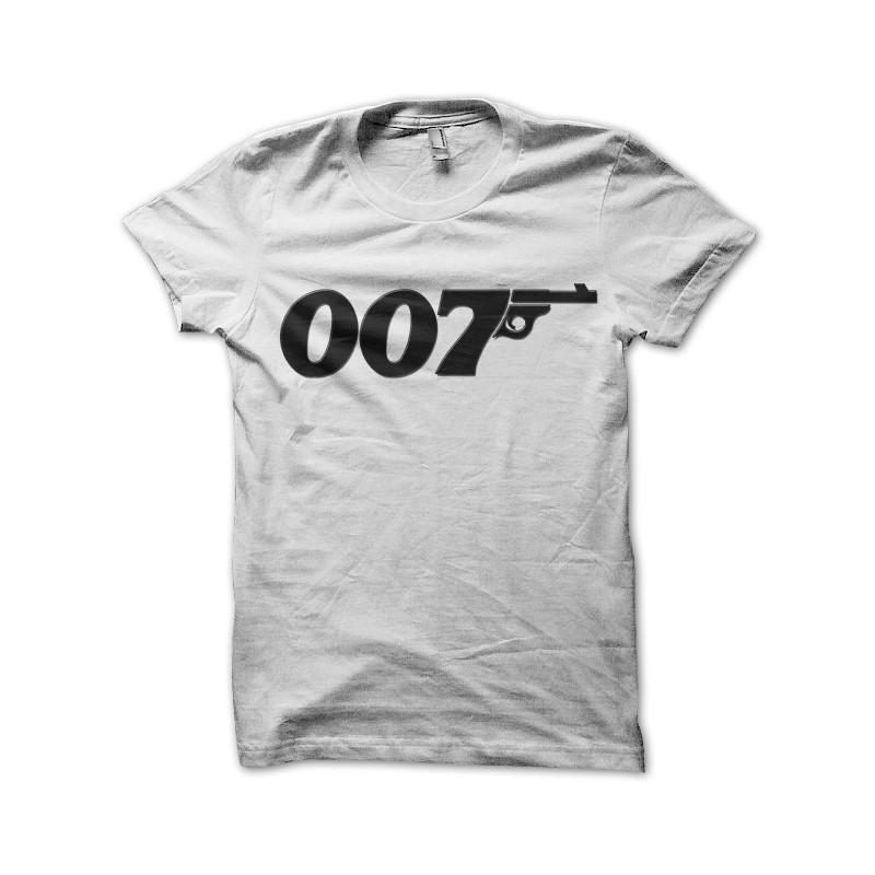 007 James Bond Black New T-shirt Rock T-shirt Rock Band Shirt