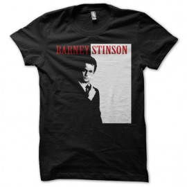Tee Shirt Barney Stinson parodie Scarface noir