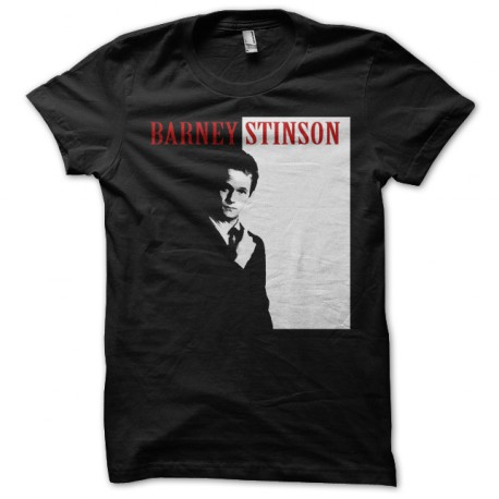 Tee Shirt Barney Stinson black Scarface parody