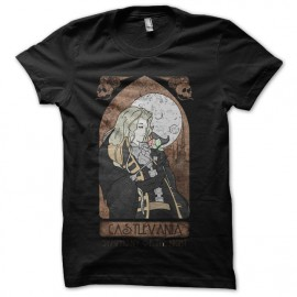 Castlevania shirt stained black