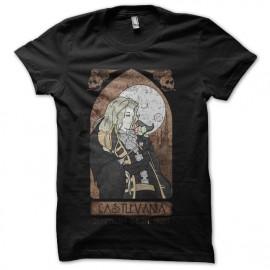 tee shirt castlevania vitrail noir