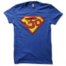 Ohm camisa azul superhombre trance