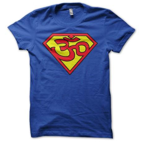 Ohm shirt superman blue trance