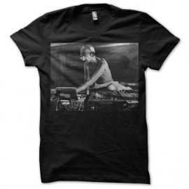 Tee shirt Gandhi dj noir