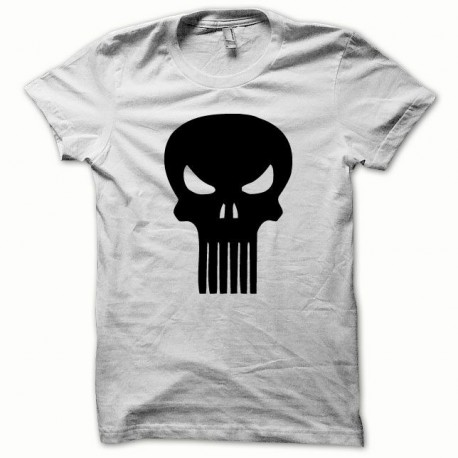Tee shirt Punisher noir/blanc