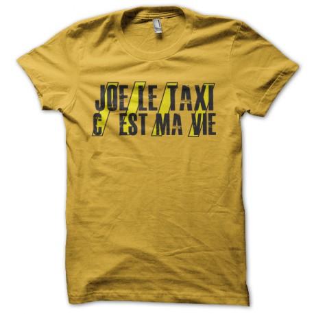 tee shirt joe le taxi jaune