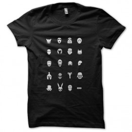 Black shirt cinemask