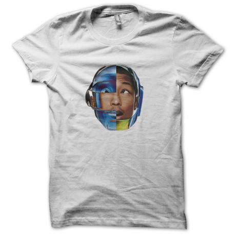 pharrell williams t-shirt with the white helmet daft punk