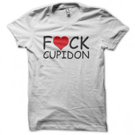 white t-shirt cupid love