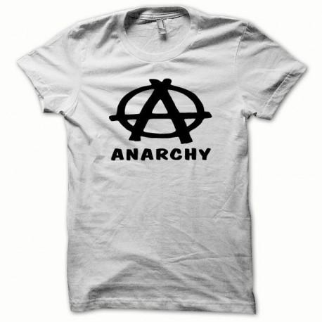 Tee shirt Anarchy noir/blanc