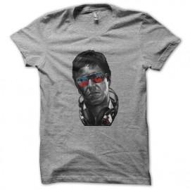Tony Montana gris camisa de la manera