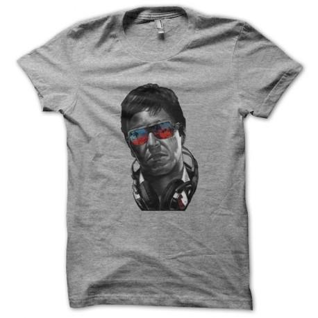 tony montana shirt fashion gray