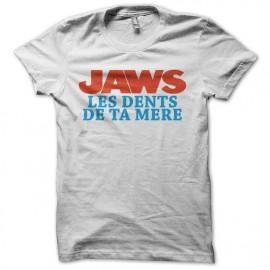 Camisa Jawn los dientes madre blanca