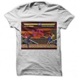 camisa de Chuck Norris vs blanco Ibrahimovic Zlatan