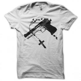 tee shirt GrabYourGuns blanc