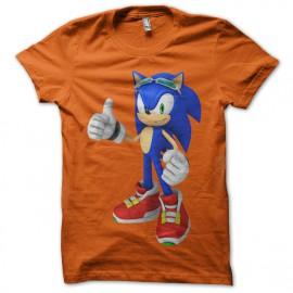 Sonic Orange Tee Shirt