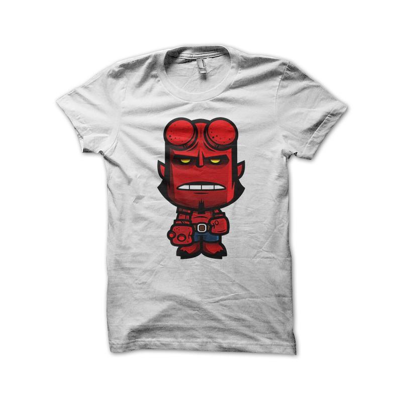 Hellboy camisa blanca ... 816e0ac1f536