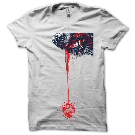 Tee Shirt Wedding Red Wolf Blood White Of Thrones