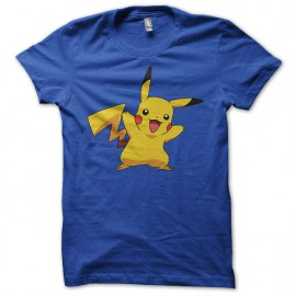 Tee Shirt Pikachu Bleu royal