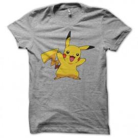 Tee Shirt Pikachu Gris