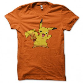 Tee Shirt Pikachu Orange