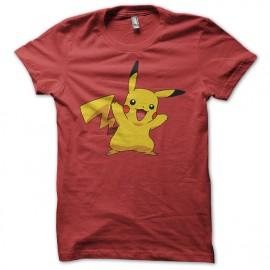 Tee Shirt Pikachu Rouge