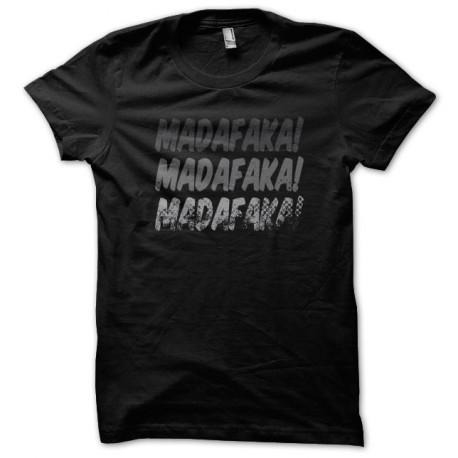 Tee Shirt Madafaka Noir