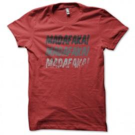 Madafaka camisa roja