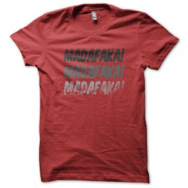 Tee shirt Madafaka rouge