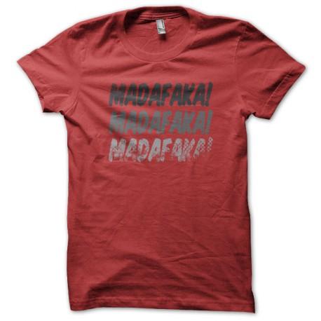 Madafaka red shirt