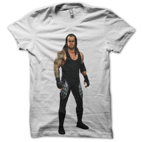tee shirt undertaker blanc