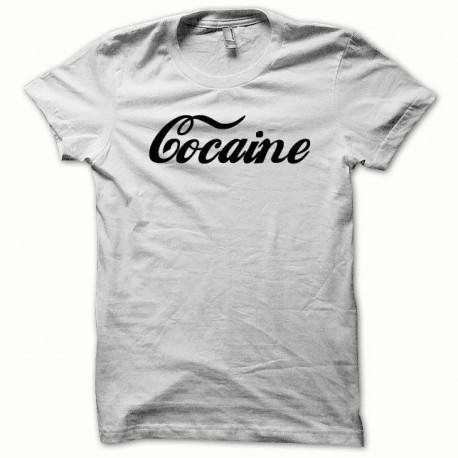 Tee shirt Cocaine noir/blanc