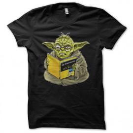 "Tee Shirt Yoda ""no grammar is"" black"