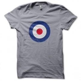 MAR círculo camiseta de la pizarra que se