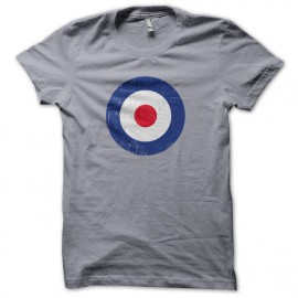 RAF roundel t-shirt the who Slate