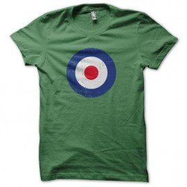 Tee shirt cocarde RAF the who Vert