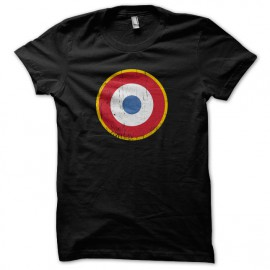 Tee Shirt The Who - les Qui - cocarde France - Noir